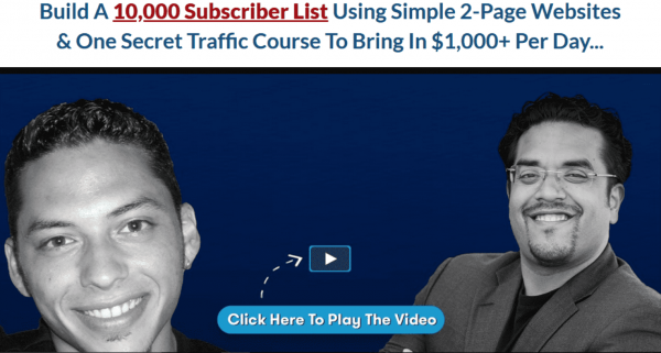 $1K A Day Fast Track – Build 10K+ Email List FAST and Immediately