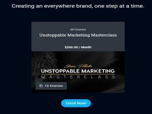 Unstoppable Marketing Masterclass Download