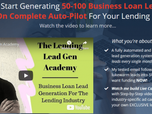 The Lending Lead Gen Academy download course