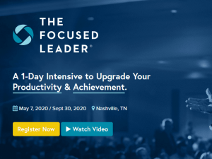 Michael Hyatt – The Focused Leader