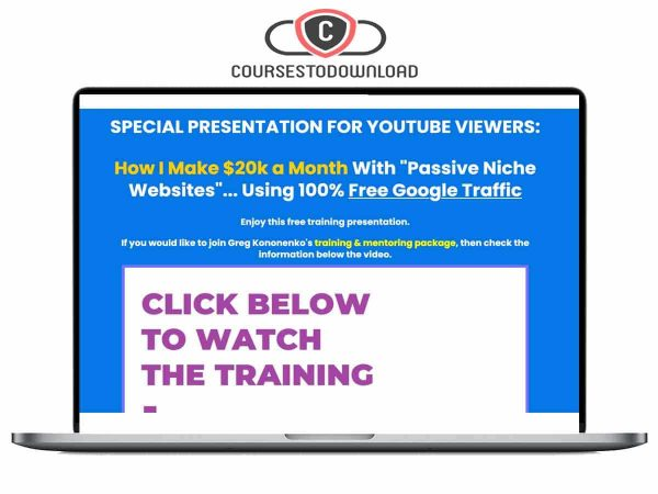 Greg Kononenko - Caffeinated Niche Profits Download